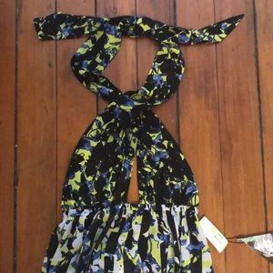 NWT Peter Pilotto for Target sheer cover-up XS